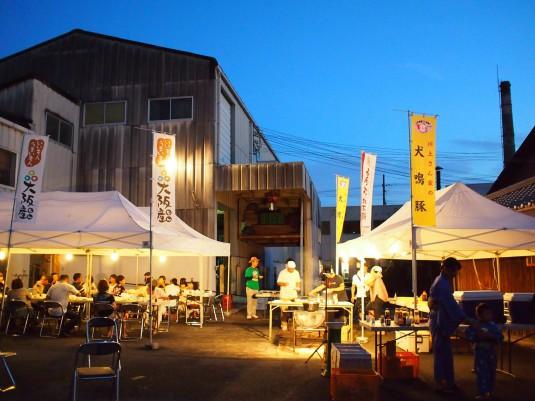 第21回泉佐野酒蔵BBQはナイター営業です。